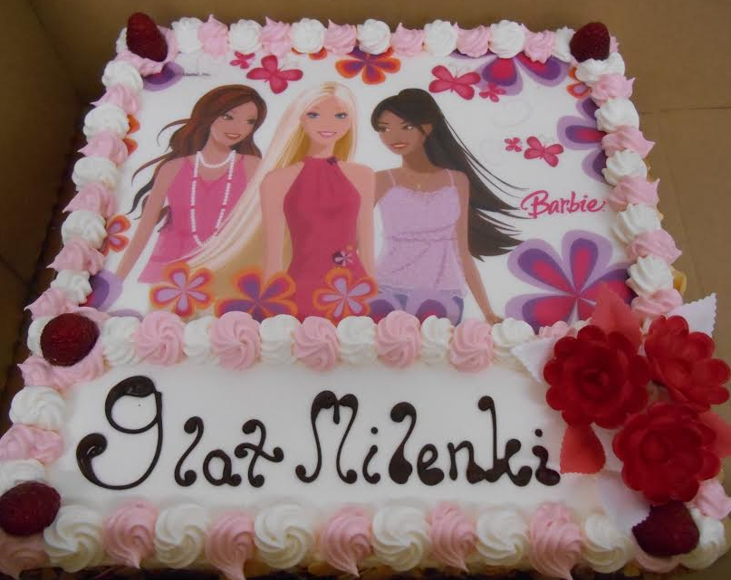 Birthday Cake With Picture Example Mmm Family Bakery
