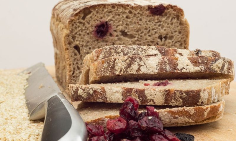 webside Rye Bread with cranberries 600g