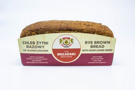 Rye Brown Bread